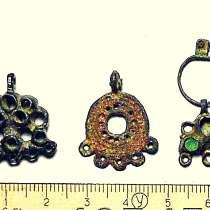 Старинные украшения. Подвески 17-18 в. в, в Смоленске