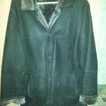 Дубленка почти новая., пальто кожанное новое, размер 54-56, в Иркутске