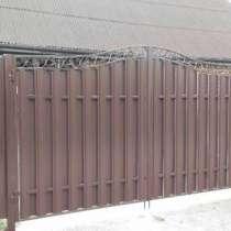 Заборы из европанелей 3D Столбцы, в г.Минск