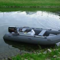 Лодка Адмирал риб 380 серый от производителя, в Санкт-Петербурге