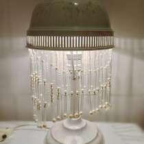 Лампа настольная - ночник, с подвесками, в Москве