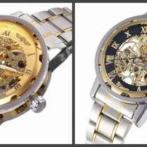 Механические часы - WINNER Simple Skeleton -Стальной браслет, в г.Черкассы