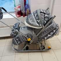 Санки-коляска, в Сергиевом Посаде