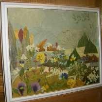 Картина-панно флористика, в г.Жлобин