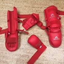 Защита для ног и перчатки, в Заречного
