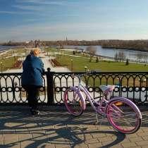 Велопрогулка по Ярославлю, в Москве