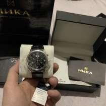 Серебряные часы «Ника», в Москве