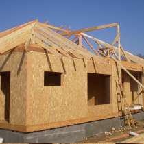 Строительство дачного садового домика домов и коттеджей СИП, в Челябинске