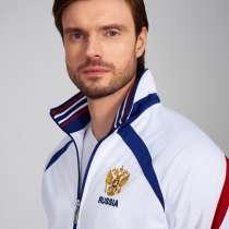Спортивный костюм мужской, Россия,335/1, белый, в Москве