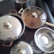 Cковородка, стекло крышки, подставки, миска, в Омске