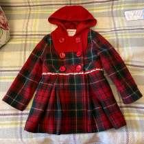 Пальто для девочки 3-4, в Москве