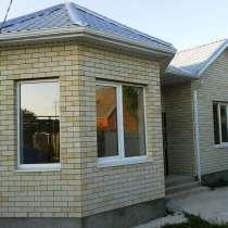 Новый дом 110 кв. м. на 8 сот. в р-не Витаминкомбината, в Краснодаре