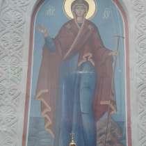 Киот из натурального камня, в Нижнем Новгороде