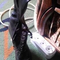 Продам осенние сапожки на тонком каблучке - 5 см, в г.Мариуполь