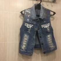 Желетка джинсовая, в Салавате