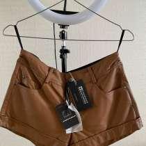 Кожаные шорты женские, в Подольске