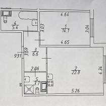 1 ккв, 52,6 кв. м, 26-я линия В. О., д.7, в Санкт-Петербурге