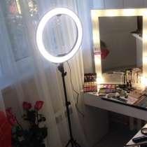 Кольцевая лампа LED (светодиодная) для индустрии красоты, в г.Семей