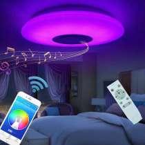 Продам Smart-светильники RGB MP-3 с Bluetooth-колонкой, в Нижневартовске