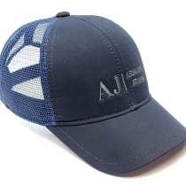 Бейсболка AJ Armani Jeans (т. синий) сетка, в Москве