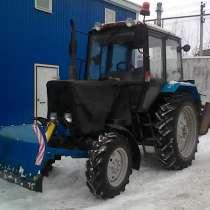 Аренда Коммунального трактора МТЗ-82.1 с отвалом и щеткой, в Иванове