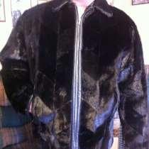 Зимняя куртка с мехом котика, в Самаре