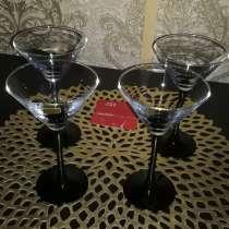 БОКАЛЫ для мартини ''LUVAL'' -4 шт+ПОДАРОК, в г.Минск