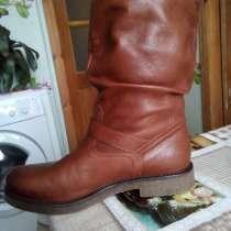 Полусапожки демисезон, кожаные женские, новые, 38 размер, в Краснодаре