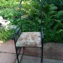 Продам кресло качалка ковка ручная работа, в Москве