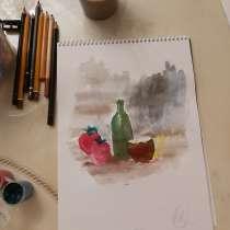 Учитель по рисованию и живописи, в г.Баку