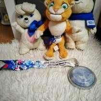 Мягкие игрушки - символы Олимпиады, в Москве