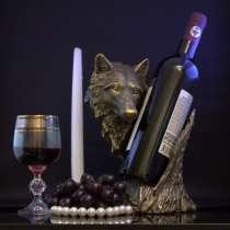 Подставка для вина, волк'', в Москве