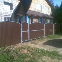 Заборы, навесы, двери, любые металлоконструкции, в Костроме
