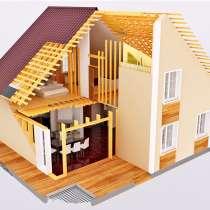 Строительство каркасных домов. Пристроек, в Рязани