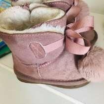 Зимние ботинки детские нат мех, в Москве