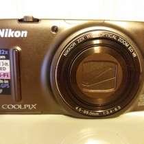 Продаю фотокамеру Nikon s9500, в Санкт-Петербурге