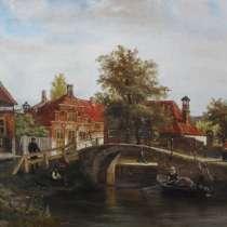 Копия с картины голландского художника, в Перми