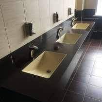 Ванны и раковины из жидкого гранита GraniStone, в г.ВЫРУ