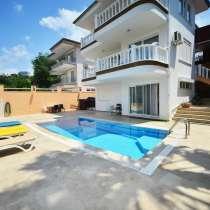Коттедж 5+1 с участком и бассейном в Турции/Аланья, в г.Аланья