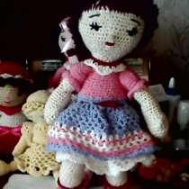 Вязаные игрушки кукла, в г.Донецк