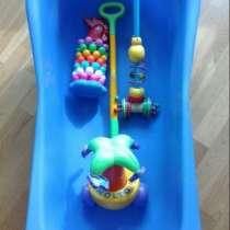 Ванна детская б/у игрушки для малышей детские товары, в Москве