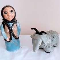 """Статуэтки """"пастушка и её козочка""""., в г.Иерусалим"""