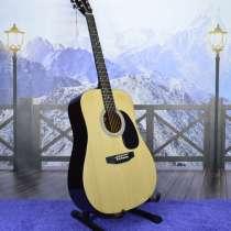 Гитара акустическая (новая) дредноут комплект, в Рязани