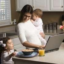 Подработка для мамочек в декрете на дому в интернете, в Перми