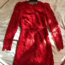 Красное платье, в Москве