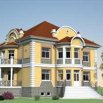 Проект (дизайн) и строительство домов и коттеджей, в Барнауле