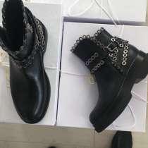 Ботинки новые Lestrosa размер 39 Италия кожа осень весна, в Москве