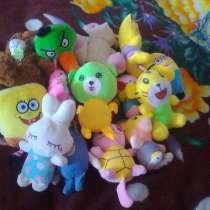 Новые детские мягкие игрушки, в Новосибирске