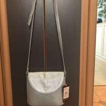 Новый клатч кожа, сумка кросс-боди в идеале, в Москве