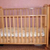 Детская деревянная кроватка Дашенька, в Новосибирске